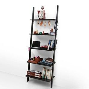 Clarke Ladder Shelf (Wenge Finish)