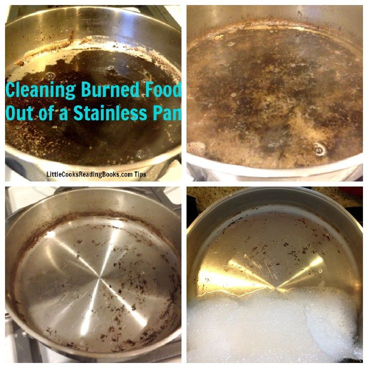 Cleaning Burned Food From Pots Pans Oh Vinegar You