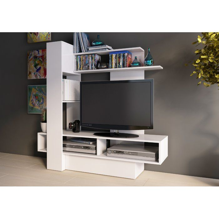 Maloy Entertainment Center For Tvs Up To 40 Entertainment