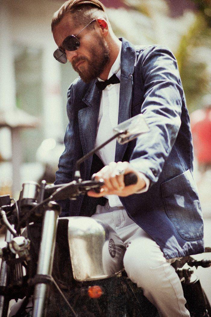 Mens's style, moda hombre, hairstyle, corte de pelo, peinados hombre | Vintgarage