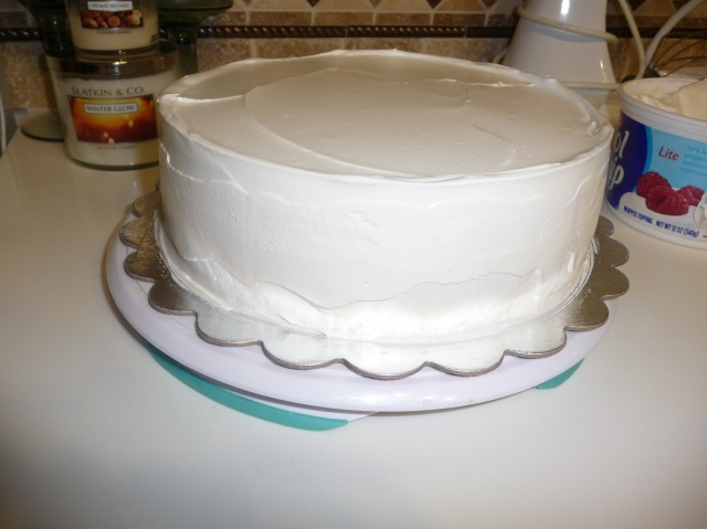 Home made ice cream cake.  I love making home made birthday cakes for my kids but my son doesnt like cake and has started requesting Dairy Queen ice cream cake.  This homemade cake is very similar to a DQ cake.  I will definitely be making it next year.