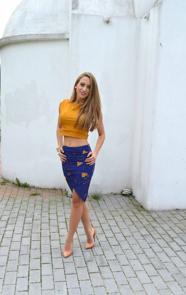 Colour blocking #sexy #outfit #glam #blondie #skirt #ootd #fashion #style