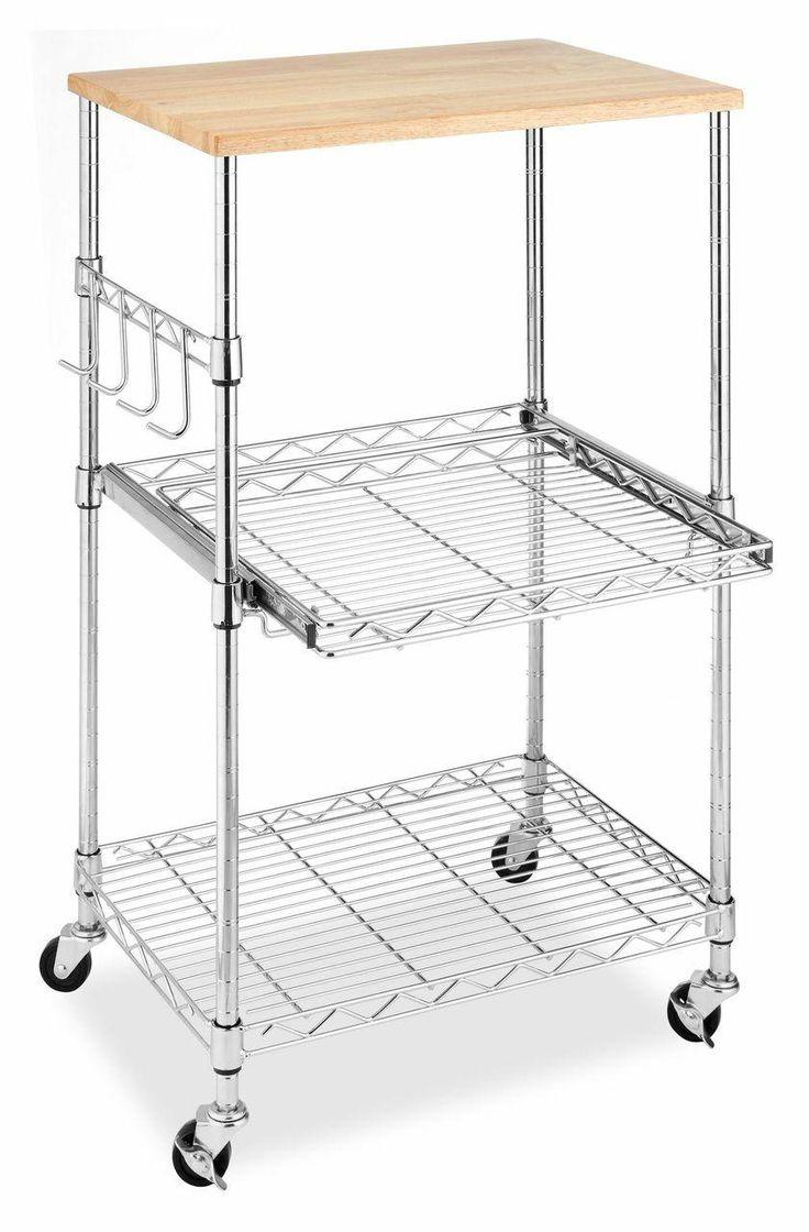 New Wooden Kitchen Utility Cart