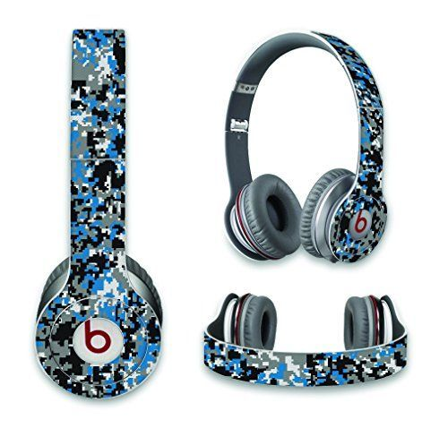 Carolina Football Inspired Skin/Decal For Beats by Dre Solo Headphones