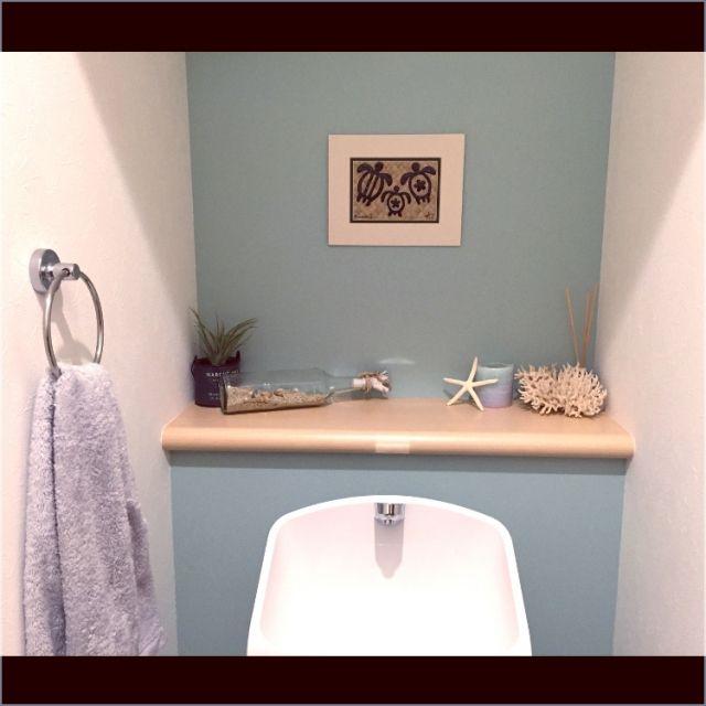 バス/トイレ/トイレ/ハワイアン/海/珊瑚のインテリア実例 - 2015-04-18 15:25:49 | RoomClip(ルームクリップ)