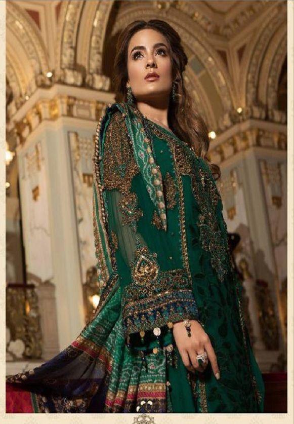 db08ec48a6 Deepsy Presents Maria B-2 Organza with heavy embroidery Suit 400-701 ...