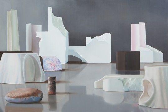 Maude Maris, Le Domaine, 130x192 cm, huile sur toile, 2013 ©