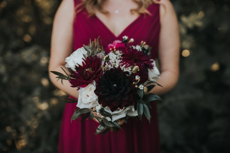 Fraser Valley Bride's maid bouquet by Floral Design by Lili