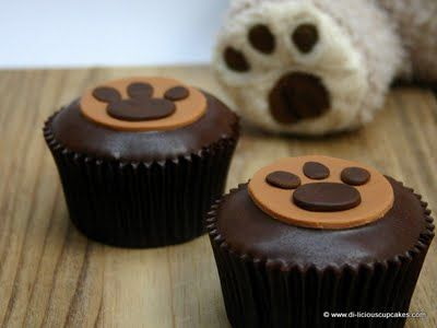 Teddy Bear Picnic Snack Idea, skip the link. Just remember you can use bear themes like paws instead of the full bear for decor.