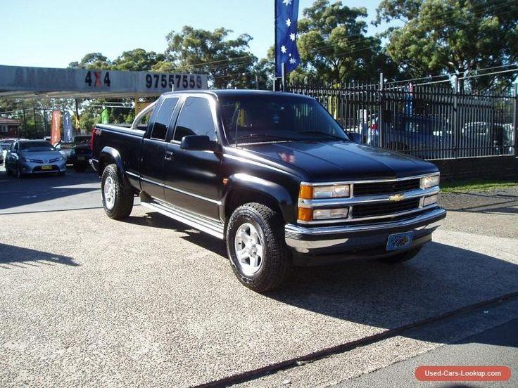 1999 CHEVROLET SILVERADO 1500 4X4 AUTO V8 EXTRA CAB 3 DOOR LONG BOX UTE #chevrolet #silverado #forsale #australia