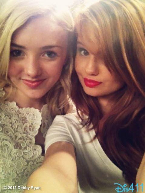 Debby Ryan And Peyton List Pretty In White