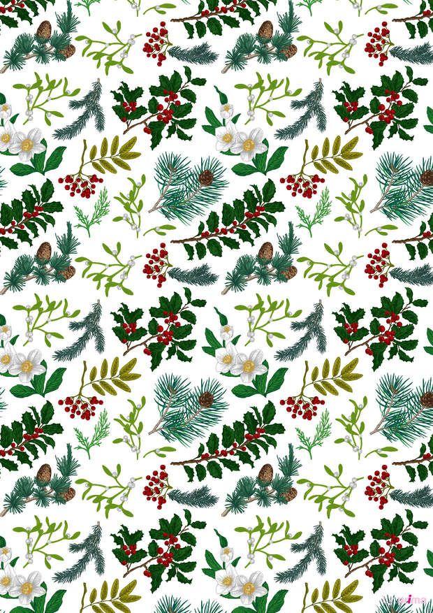 Populaire Les 105 meilleures images du tableau Noël motifs à imprimer  KA98