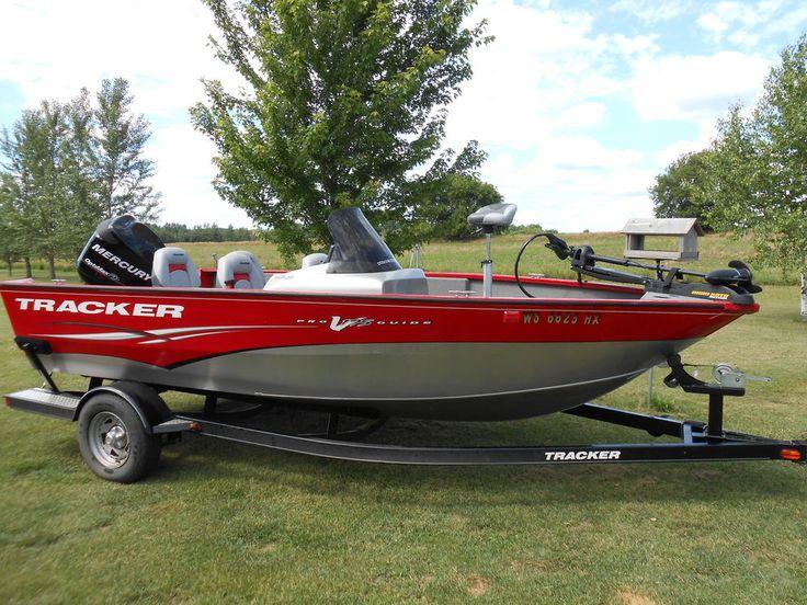 2012 tracker pro guide v 175 sc deep v fishing boat bass for Bass tracker fishing boats