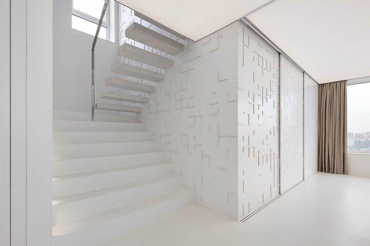 TJ ARCHITEKTI | Moderní mezonetový byt s překrásným výhledem