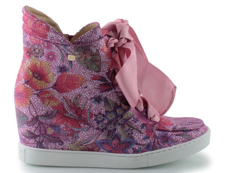sneakersy baldowski d01022/snik/012 alaska róż