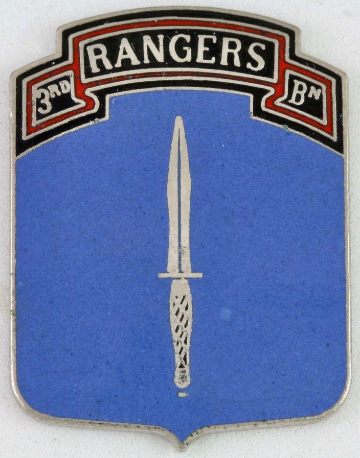 3rd Ranger Battalion Crest