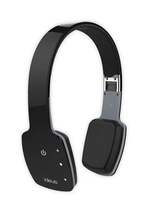 he100btbk ideus bluetooth headphones black support bluetooth phone calls. Black Bedroom Furniture Sets. Home Design Ideas