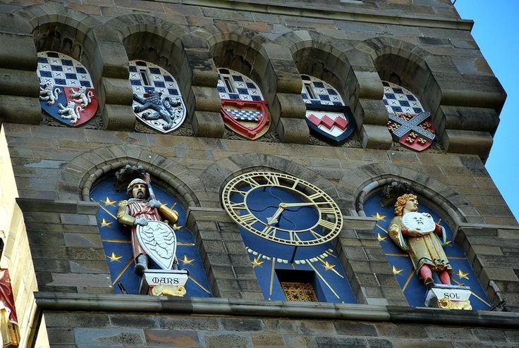 Часы Кардифф, Уэльс, Великобритания