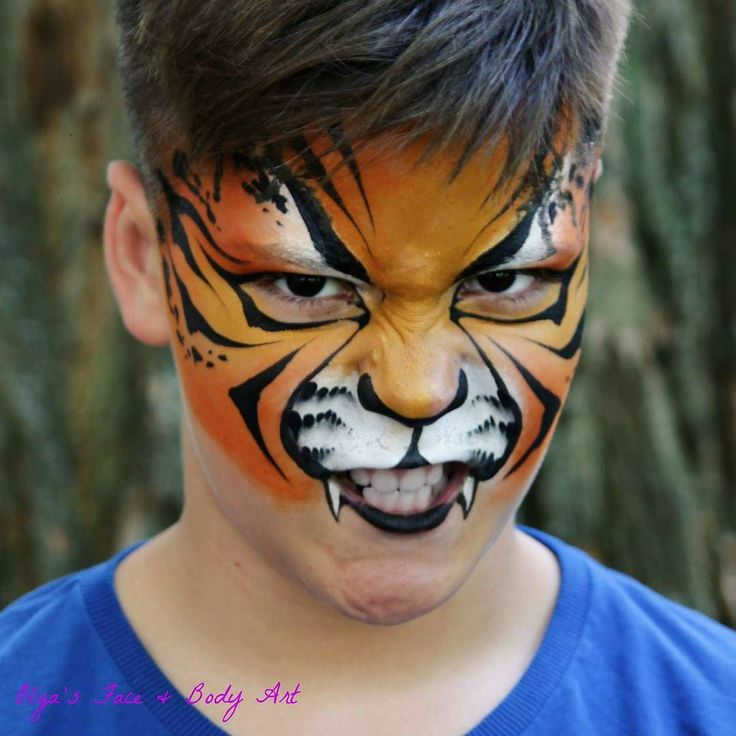 Do you love painting tigers like I do? You can be so #creative with them!  #learnfacebodyart #facepaint #facepainting #facepainter #olgamurasev #tiger #tigerstripes #tigerfacepaint #tigerfacepainting #аквагрим #грим #ольгамурашева #faceart #facepaints #facepainted #bodypainting #bodypainter #paintlife #howtopaint#learntopaint #тигр #аквагримтигр #animalfacepaint