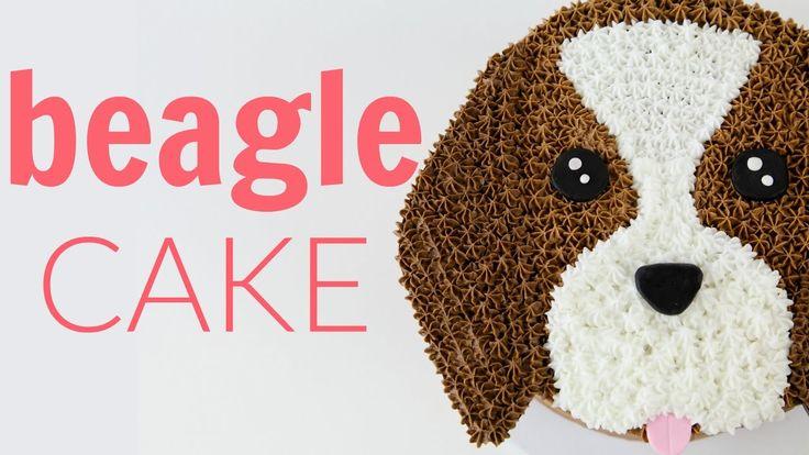 Make a Beagle DOG Cake - CAKE STYLE