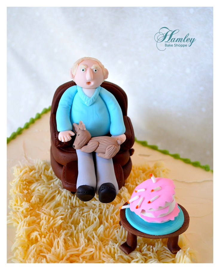 Chair Cake Topper