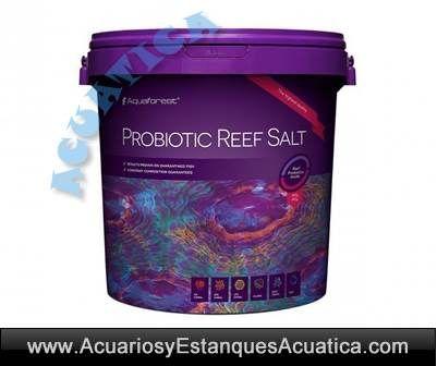 NUEVO! AQUAFOREST PROBIOTIC REEF SALT especial acuarios con corales #salacuariomarinoreef #acuariocorales #acuarioarrecife http://acuariosyestanquesacuatica.com/sal-marina-arena-de-coral-sustratos-gravas/1103-aquaforest-probiotic-reef-salt-sal-acuarios-marinos.html