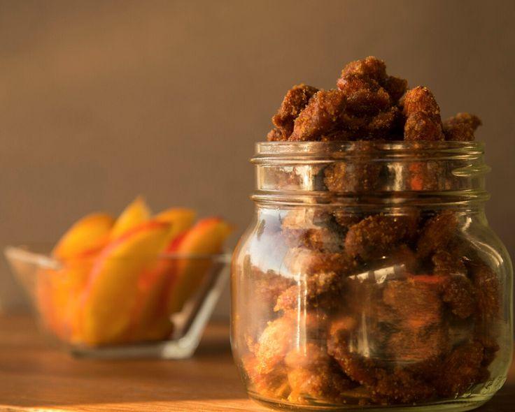 http://www.jumbleyum.com/slow-cooker-candied-almonds/