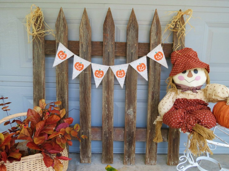 halloween jack o lantern burlap banner halloween photography prop - Halloween Photography Props
