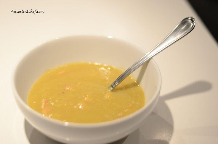 Cauliflower, Leek, and Bacon #Paleo Soup
