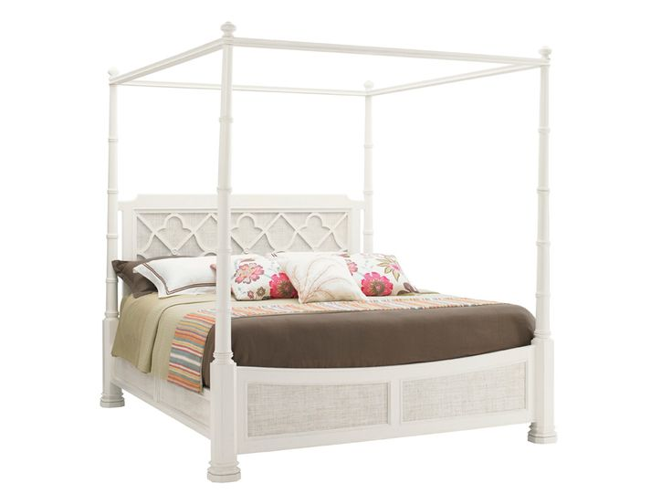 Lexington Home Brands Ivory Key Southampton Poster King Bed