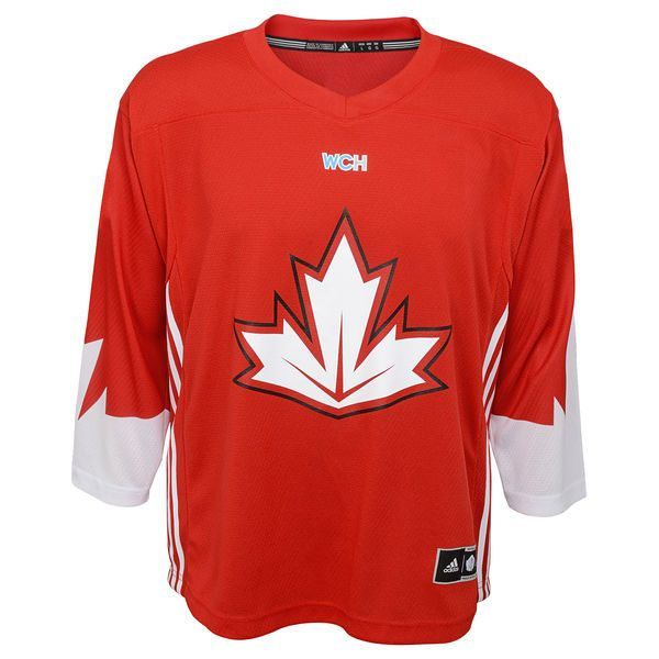 Canada Hockey adidas Youth World Cup of Hockey 2016 Replica Jersey - Red - $64.99