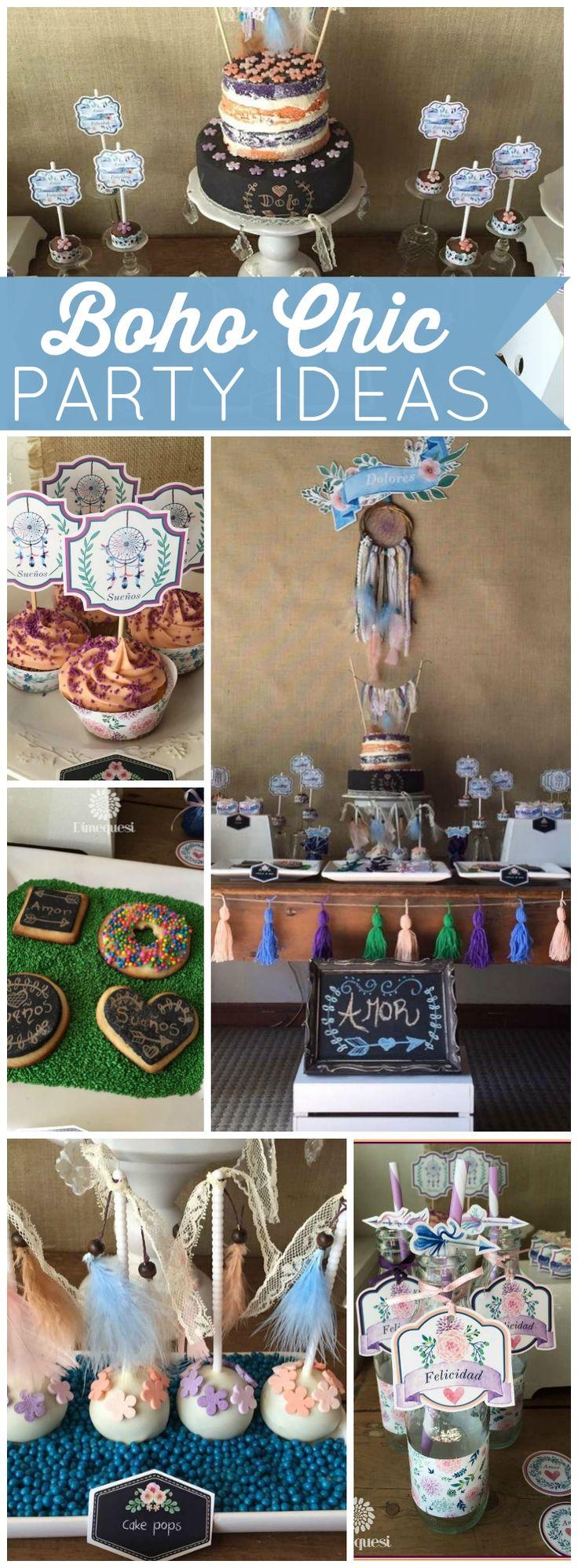 Boho Chic Birthday Quot Boho Birthday Party Quot Birthdays My