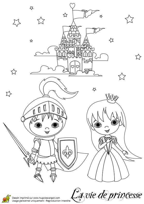Prince Charmant Princesse Et Chateau, page 11 sur 20 sur HugoLescargot.com