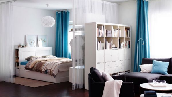 create a bedroom in a studio apartment 2
