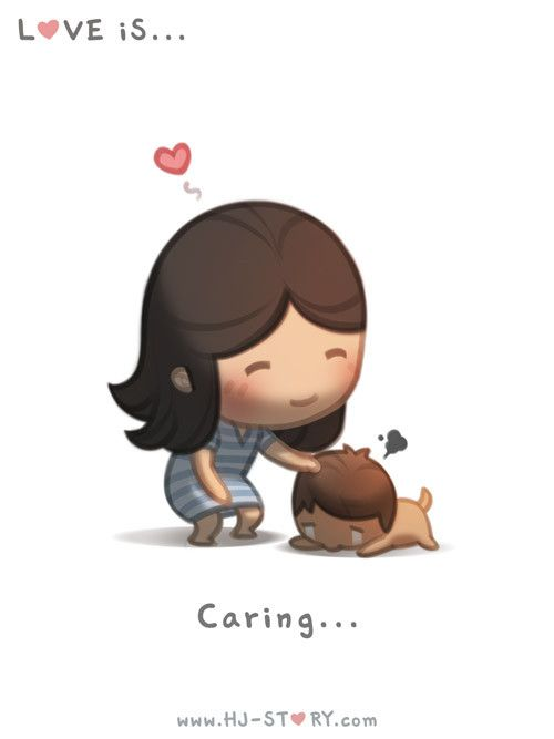 Check out the comic HJ-Story :: Love is... Caring