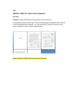 CMGT557   CMGT 557   Week 3 Team Assignment --> http://www.scribd.com/doc/155599702/cmgt557-cmgt-557-week-3-team-assignment