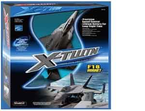 The Silverlit X-Twin F18 RC Radio Controlled Aircraft is an X-Twin radio control plane from this superb range. Charging direct from the transmitter in less than half an hour, provides exciting flights of up to ten minutes between charges. The attractive new style Gift Boxes include an informative flight manual, two spare propellers and all you need to take off within minutes of opening the box, excluding 6 x AA Alkaline batteries for the integral transmitter/charger provided.