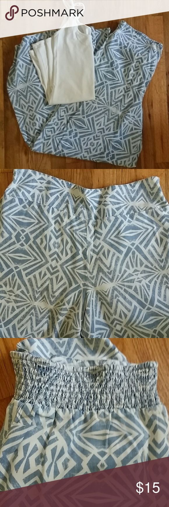 Comfy Aztec pants Super comfy fashion pants with Aztec print, only worn once Mossimo Supply Co Pants Wide Leg