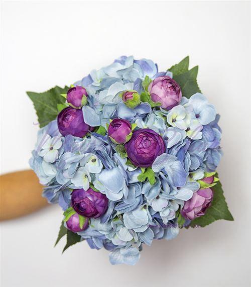 Gelin Çiçeği Mavi Ortanca Erengül