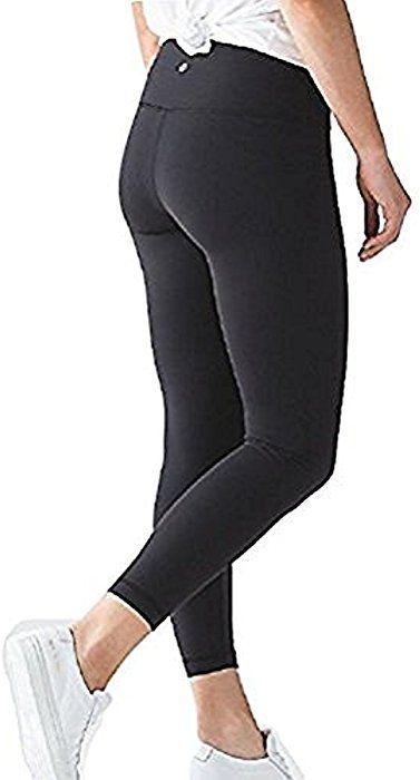 0447e5802 Amazon.com   Lululemon High Times Pant Full On Luon 7 8 Yoga Pants (Black