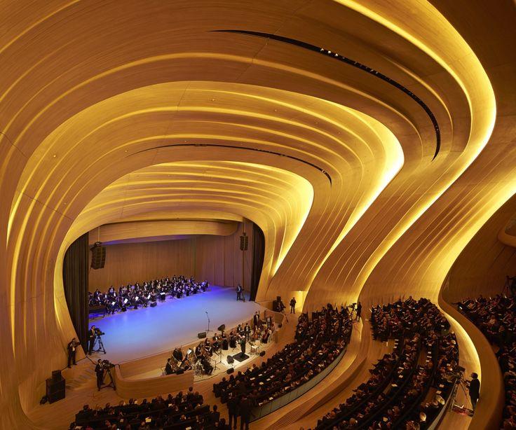 Heydar Aliyev Center Designed By Zaha Hadid Architects Architecture