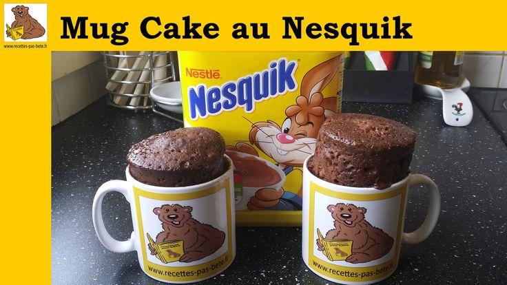 Le Mug cake au nesquik (recette rapide et facile ...