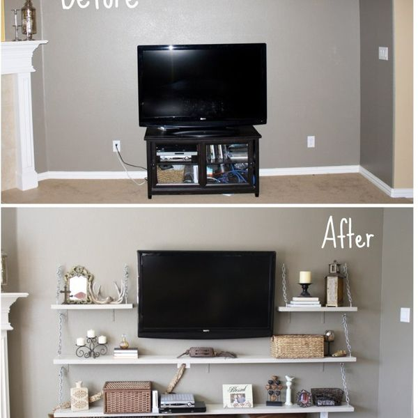 Revamp your Studio Apartment!   Replace Media Shelves   Learnist