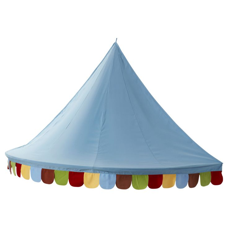 Ikea Hack Use This Mysig Bed Canopy To Create A Big Top