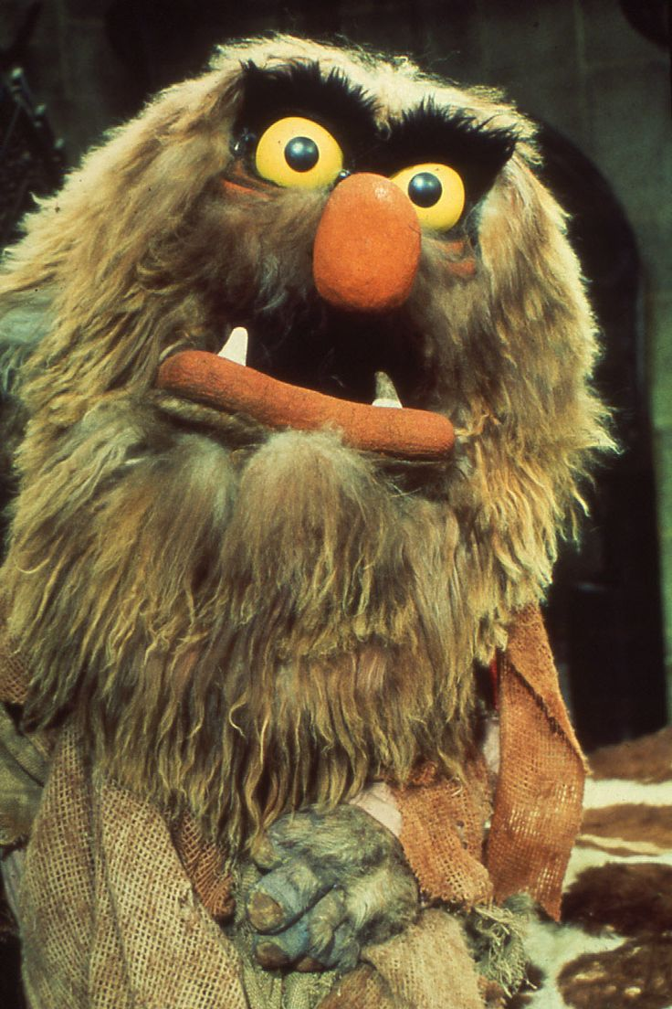Sweetums from the Muppets.