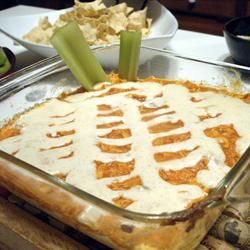 Blue Cheese Chicken Wing Dip