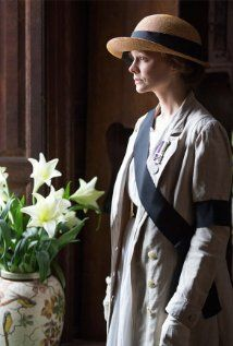 Suffragette (2015)  Directed by Sarah Gavron; starring Carey Mulligan and Meryl Streep.  Poster