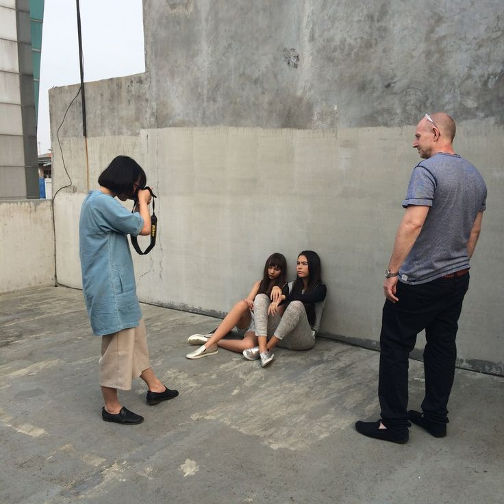 #BLXS #BehindTheScene with our Art Director, Jonathan and Editorial Photographer Owen