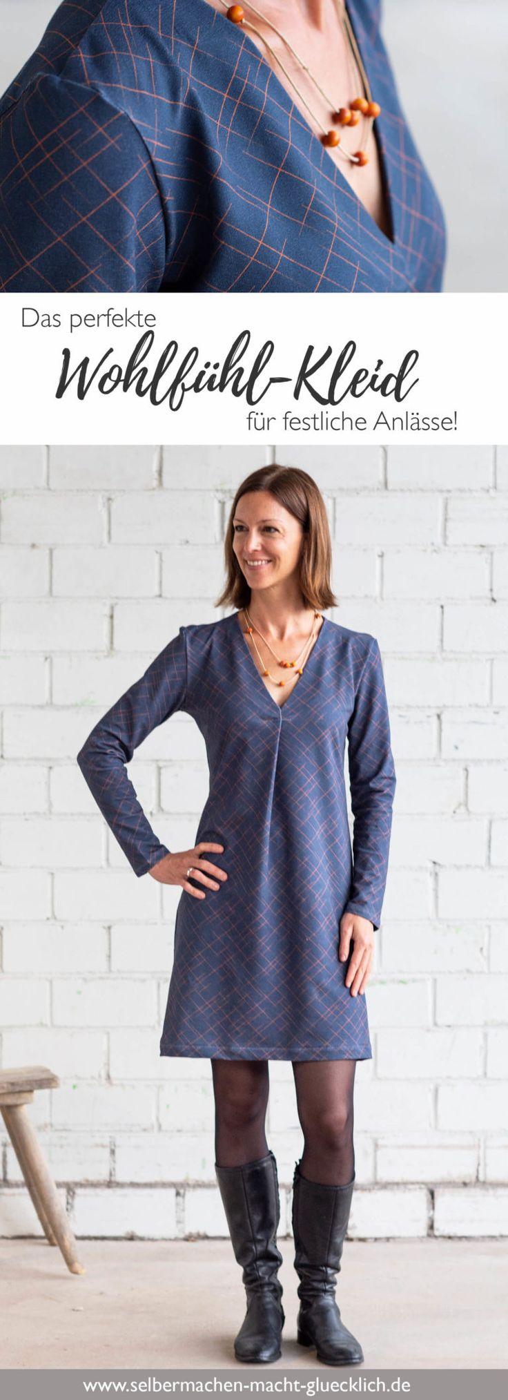 Das perfekte Wohlfühl-Kleid für festliche Anlässe selber nähen! – susanne Gessler