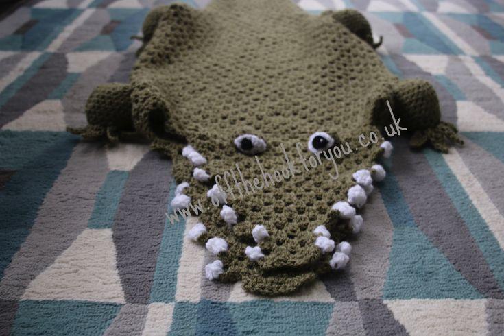 Free Crochet Pattern For Alligator Blanket : Eaten by an Alligator Home, Alligators and Robert richard
